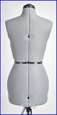 1-Piece Adjustable Small Mannequin Torso Dress Form Sewing And Quilting Tool