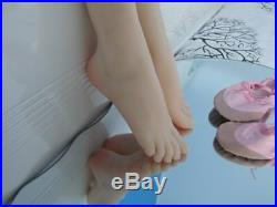 2018Top Quality Silicone Female Deep Arch Foot Ballet Feet Display Model Size 36