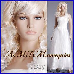 34/24/36Female mannequin. 5 ft 11 tall, hand made manikin-Nancy