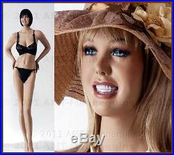 37/25/37 Smiling Female busty mannequins, manequin, hand made manikin-CR-2
