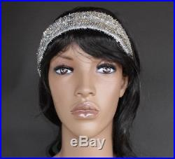 5 ft 10 in African American Female Mannequin Black Wig Face Make up SFW4BT