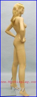 5 ft 10 in Female Fullsize Mannequin Skintone Face Make up Torso Form SFE-51FT
