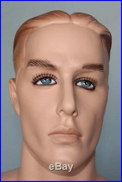 5 ft 10 in MALE MANNEQUIN, Skin tone Face Make up, Small size, WII uniform RO5FT