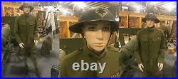 5 ft 7 in Small Size Male Mannequin Skintone Face Makeup for WWI Uniform CB19FT