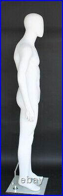 5 ft 8 in White Male Mannequin Egg Head Small size for WWI or II Uniform AME05-W