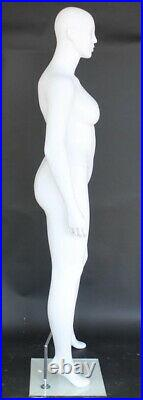 6 ft 1 in PLUS SIZE Female Mannequin Abstract Head PLUS BODY TORSO FORM PLUS-99