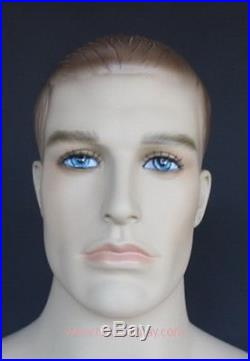 6 ft 2 in Male Mannequin with Articular Arms and hands Skinton Make up SFM14FT