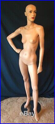 Adel Rootstein Vintage Female Mannequin Kim Harris X3 Body Gossip Collection