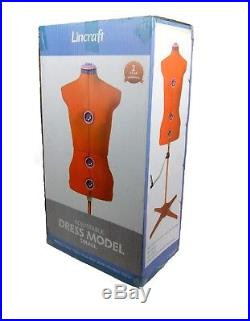 Adjustable Dressmaker Dummy Model Small Dress Form Dressform Red Mannequin New