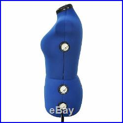 Adjustable Mannequin Dress Form Plus Size Torso Female Sewing Seamstress