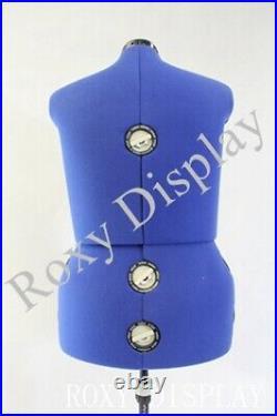 Adjustable Sewing Dress Form Female Mannequin Torso Medium Large Size #JF-FH-10