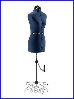 Adjustable Sewing Dress Form Mannequin Figured & Large Size Women