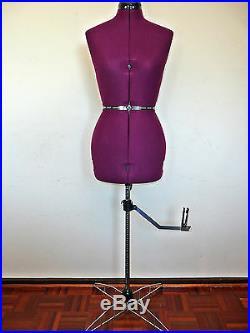 Adjustable (Size 10-16) Dressmaker Dummy Dressmaking Model Dress Form Mannequin