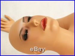 Adult Female Fiberglass Realistic Face Fleshtone Full Body Madonna Mannequin