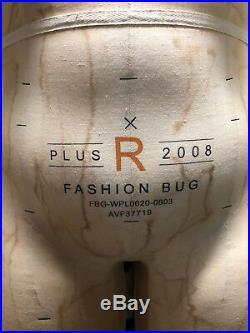 Alva Form by Alvanon Full Body Dress Form, Plus R Size, Model 2008