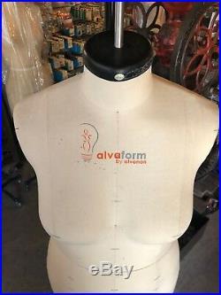 Alva Form by Alvanon Full Body Dress Form, Sz 10 NORMA- MISSY