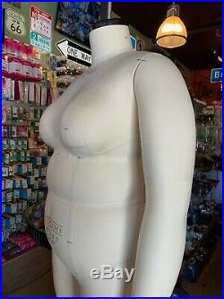 Alva Form by Alvanon Plus Full Body Dress Form, Sz 18 Model 2006