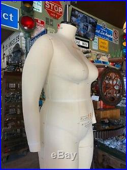 Alva Form by Alvanon Plus Full Body Dress Form, Sz 18 Model 2011