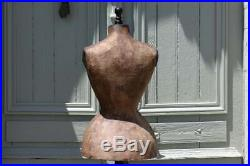 Antique French WASP WAIST Mannequin Dress Form, Tailor's Dummy