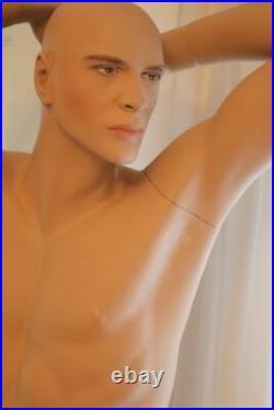 Beautiful Vintage Hindsgaul Male Mannequin