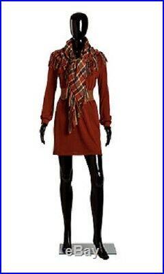 Black Female Mannequin 31 Bust 24 ½ Waist 33 Hips 5'8 Tall Full Body