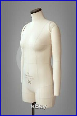 COTTON ARMS for tailor dress form Soft pinnable arms for sewing mannequin
