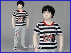 Child Fiberglass Cute Realistic Mannequin Dress Form Display #MZ-ITA2