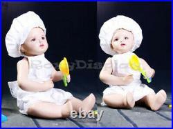 Child Fiberglass Realistic Mannequin Dress Form Display #MZ-ANN3