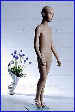 Child girl / boy mannequin, dispay manequin, hand made fiber glass manikin- Trey