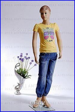 Child mannequin brand new manikin fiber glass kid boy manequin Jacob