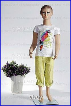 Child mannequin girl, 45 years old, Hand made, Full body realistic manikin-Molly