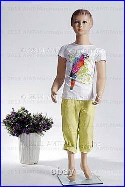 Child mannequin girl, 45 years old, Hand made fiberglass full-body manikin-Molly
