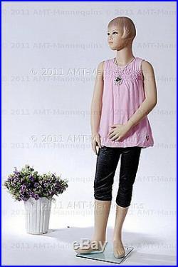 Child mannequin kid manikin about 910 years old Hgt 55 Girl mannequin Pet