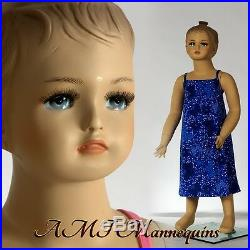 Child mannequin manikin abt 1 year old Christmas Doll baby girl manikin-Cat