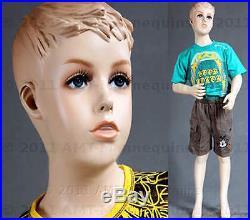 Child mannequin manikin fiber glass full body boy (45) manequin Sky