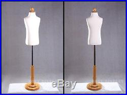 Children Hard Foam Form Mannequin Manequin Manikin Dress Form Display #C3/4T