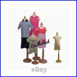 Children/child/kid mannequin 4 Units store display dress form partial legs