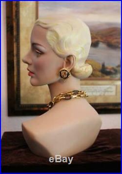 Decoeyes Cari Stunning Bust (head & shoulders)by Jerry Landwerlen FREE SHIP