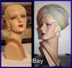 Decoeyes MAE Mannequin Collectible 1930's Custom Bust by Larry Landwerlen