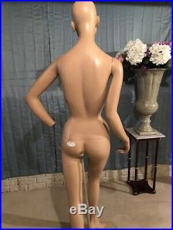 Decter Rare Vintage Full Body Female Display Mannequin