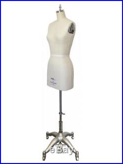 Dress Form Size 6 with Flat Hip, Professional Female Dress Form