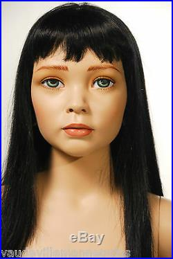 Eight Year Old Girl Child Mannequin-Vintage quality from Decter & Vaudeville
