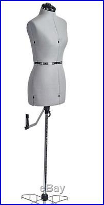 Fashion Maker Petite Dress Mannequin Form Domestic Adjustable Clothes Sewing Art