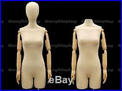 Female Body form straight pinnable with Arm and Head #JF-F2Larm+BS-05