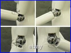 Female Fiberglass Flexible Arms Mannequin Manequin Dress Form Display #HFA2WH