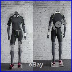Female Fiberglass Headless Athletic style Mannequin Dress Form Display #MZ-NI-10