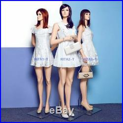 Female Fiberglass Mannequin realistic women dummy RITA1-T