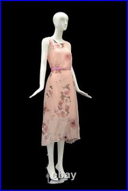 Female Full Body Mannequin Abstract High End Style Glossy White Fiberglass