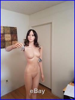 Female Full Body Mannequin Robot for Window Display Realistic Humanoid Robot