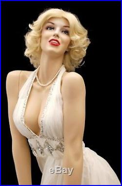 Female Full Body Sexy Realistic Styled Mannequin Marilyn Monroe Mannequin